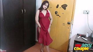 Indian XXX Film Sexy Wife Sonia In Red Lingerie Dancing