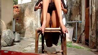 Horny Desi Teen Naked Outdoor