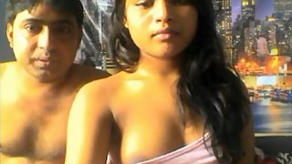 Young Horny Indian Couple Webcam Show Naked