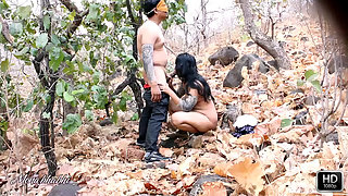 Mona Hot Indian Housewife Fucked Outdoor