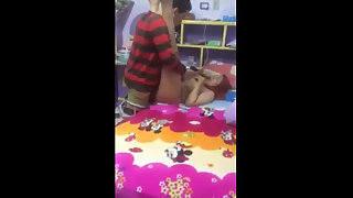 Indian Wife Fucked by Husband Friend While He Watch