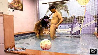 Mona Bhabhi Fucked Hard In A Swimming Pool