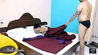 Dark Skin Indian Housewife Mona Bedroom XXX Fucking