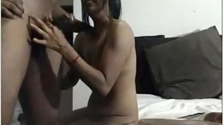 Sweet Desi Couple Passionate Foreplay