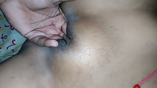 Hot Indian GF Shaved Pussy Finger Fucked